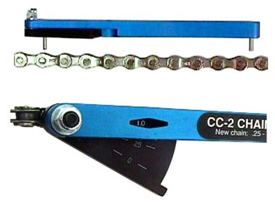 Park Tool CC-2 Chain Wear Indicator-Bicycle Tool-Blue-New